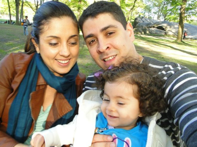 Família no Central Park