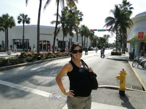 Eu e a Bela na Lincoln Road