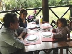 Que delícia comer em um lugar assim!