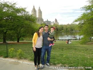 Central Park, com o San Remo ao fundo