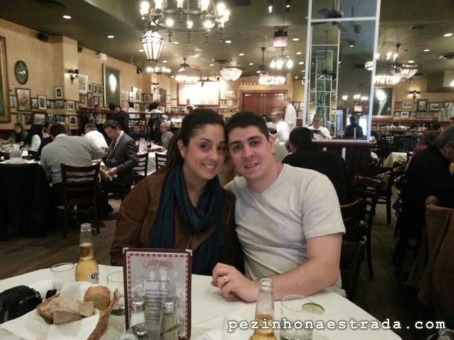 Carmine's Times Square, um restaurante BBB