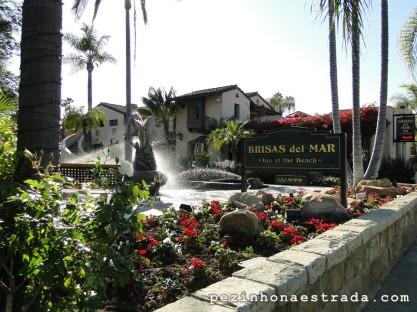 Nosso hotel super charmoso em Santa Barbara