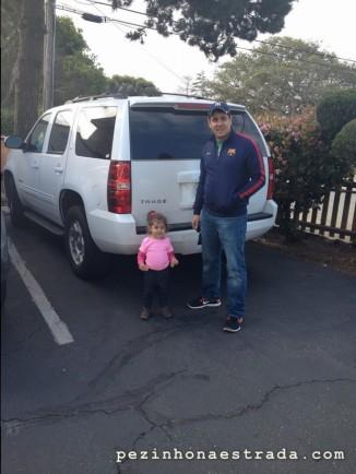 Nosso carro, um Chevrolet Tahoe