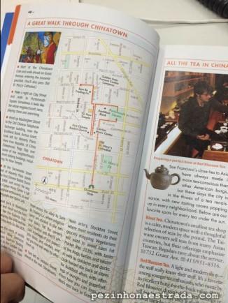 Seguimos o roteiro do Fodor's para o passeio a pé em Chinatown