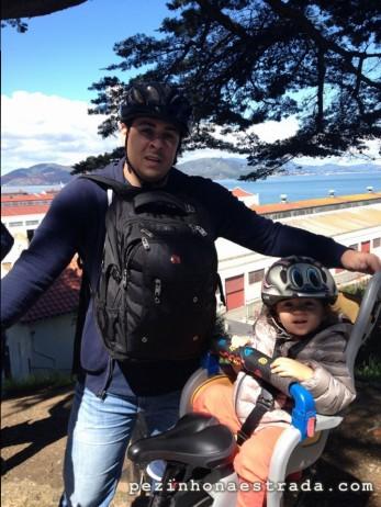 Golden Gate Bridge de bike