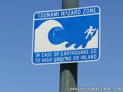 Área sujeita a terremotos e tsunamis - Santa Barbara