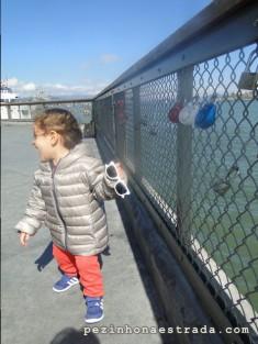 Love locks (cadeados do amor) no Fisherman's Wharf
