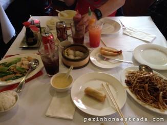 Almoço em Chinatown