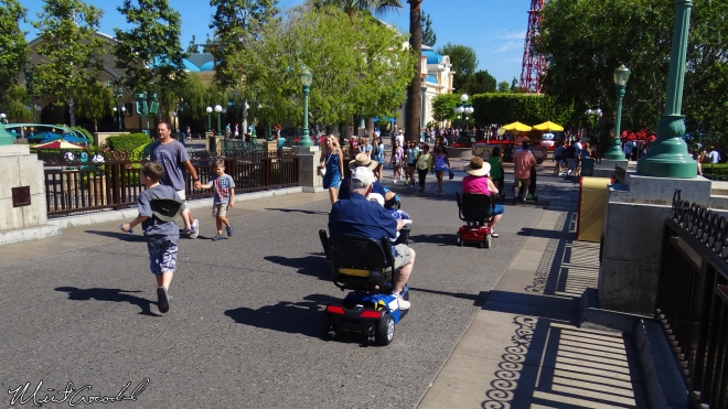 ECVs no Disney California Adventure. Créditos: MintCrocodile. http://mintcrocodile.blogspot.com.br/