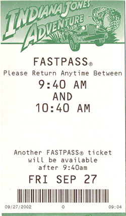 Fast Pass. Créditos: Elf. http://creativecommons.org/licenses/by-sa/3.0/