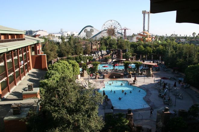 Disney's Grand Californian Hotel. Créditos: Cbrown1023. http://creativecommons.org/licenses/by-sa/3.0/