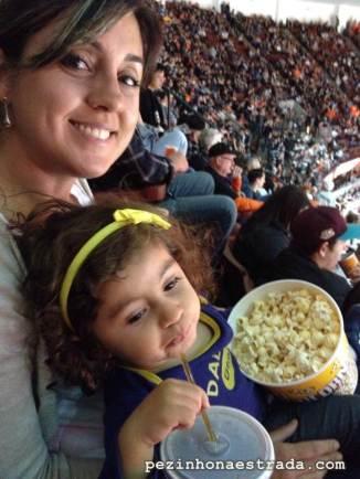 Jogo dos Anaheim Ducks!