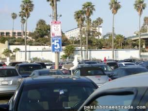 Estacionamento em Santa Monica