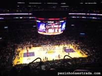 Jogo dos Lakers no Staples Center