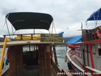 Barco que alugamos
