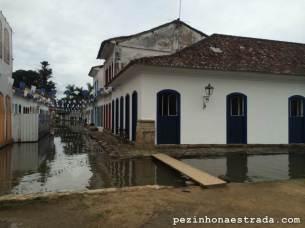 Centro Histórico de Paraty, maré alta