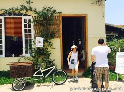 Chegando ao La Bicyclette