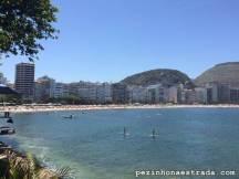 Copacanana vista do Forte