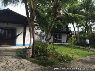 Nossos chalés no Hotel Tibau Lagoa