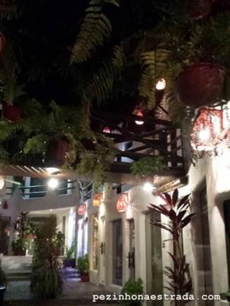 Noite de Pipa. Foto feita pela minha sogra.