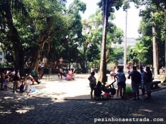 Playground no Parque Lage
